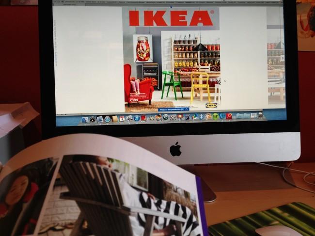 catálogo online y offline